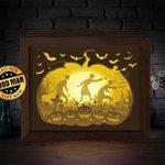 Image for the Tweet beginning: Halloween 4 – 3D Paper