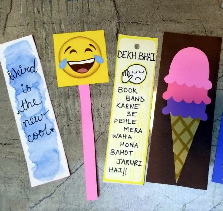 """""""Handmade #Bookmarks are the concise canvases that allow me to #ExpressWithPaper without the pressure of filling a larger space,"""" Aditi Taskar adds, """"they are great personal gifts to anybody and everybody; even those who are not readers."""" #RediscoverYourHobbies #TeamBMPA https://t.co/P7rxkciqSE"""
