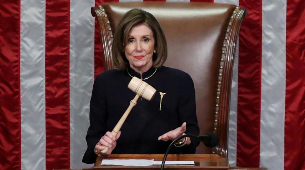 وسائل إعلام أمريكية: #نانسي_بيلوسي سترسل مذكرة #عزل_ترامب إلى #مجلس_الشيوخ الأسبوع المقبل  #البيان_القارئ_دائما