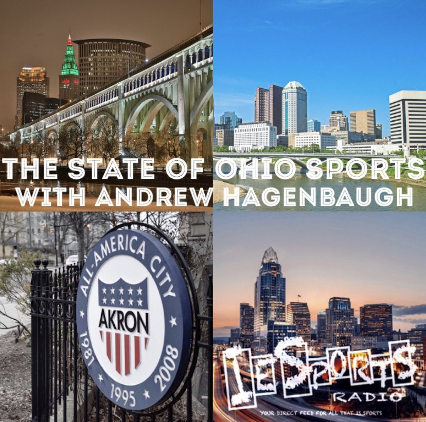 Tune in live for #ThestateofOhioSports with @DrewHagenbaugh! #NCAA #NCAAB #NCAAF #CFBPlayoff #CBJ #Browns #BeTheFight #NFL #NFLPlayoffs #Crew96 @stateofOHIESR