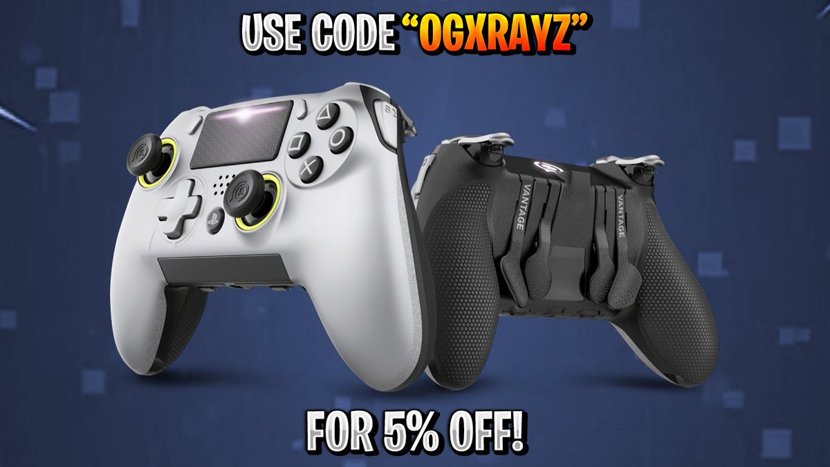 OGXRAYZ - Get the upper hand with @ScufGaming controllers! Use code OGXRAYZ for 5% Off! #Ad