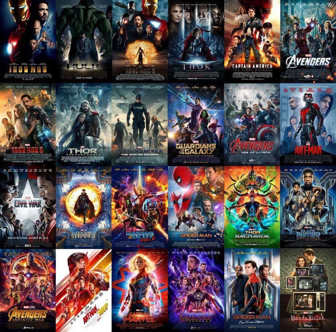 #WandaVision es la primer producción de #MarvelStudios que se estrena en más de 1 año, y la primera de la fase 4 del MCU.