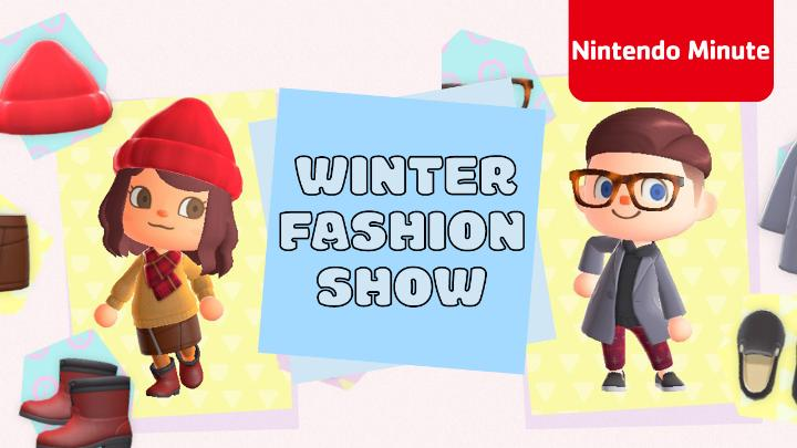 Kit & Krysta are catwalking their way into 2021 with the coolest winter looks from #AnimalCrossing: New Horizons. Which one is your favorite? #NintendoMinute #ACNH  👀 :