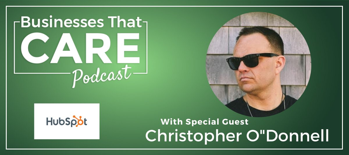 Chris O'Donnell, the markitecht and VP at Hubspot, talks about an evolving culture through radical transparency.  Listen to the episode   #Leadershipmatters #EmployeeExperience