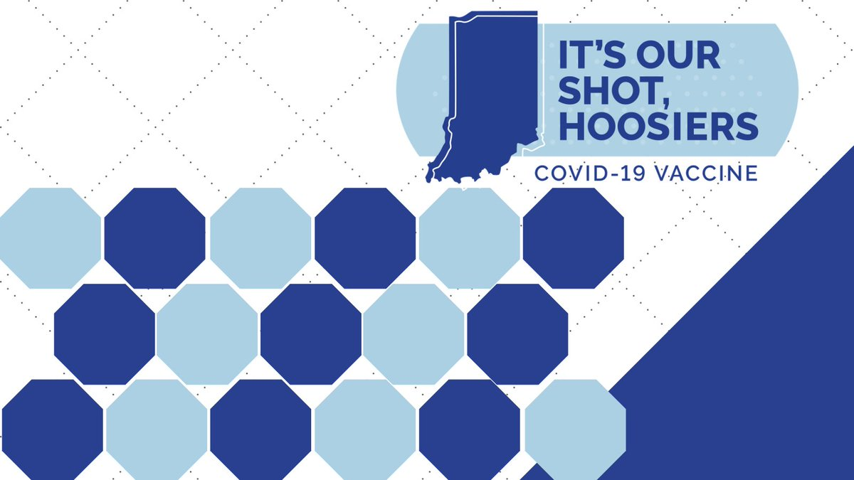 If you're a Hoosier who is: ✔️over 70 ✔️a healthcare worker ✔️a first responder ✔️a person on this list ➡️   You can register for the #COVID19 vaccine at .