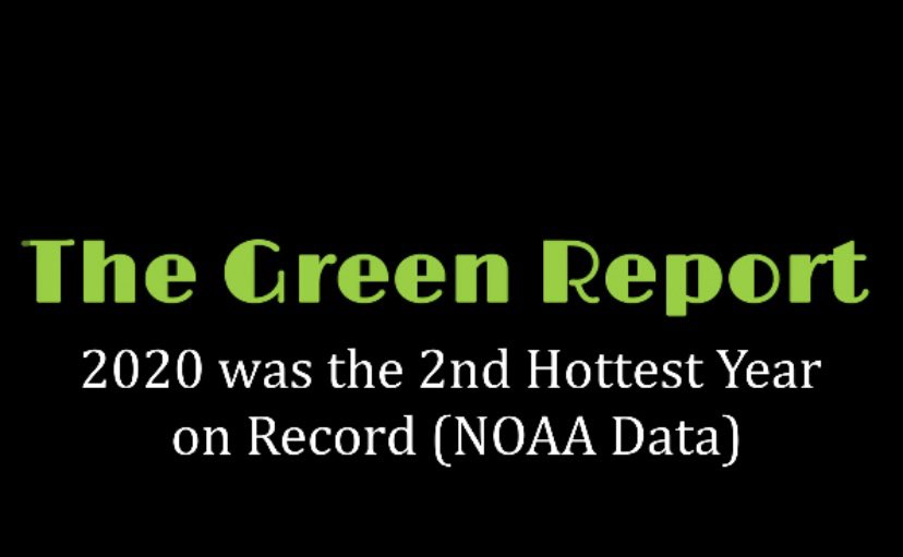 🔸2020 was the 2nd Hottest Year on Record (NOAA Data)📈🔥 via @YouTube  #FridaysForFuture #2020Wrapped #ClimateCrisis #climatedata #noaa #ClimateAction #environment