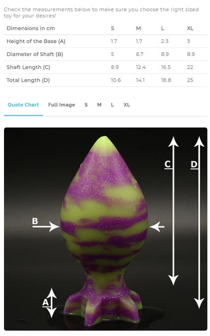 1 pic. #Xbomb, What is you size? 10.0% off!  https://t.co/zGo1KFBuE3 Promocode: LARA10  #handmade #sextoys