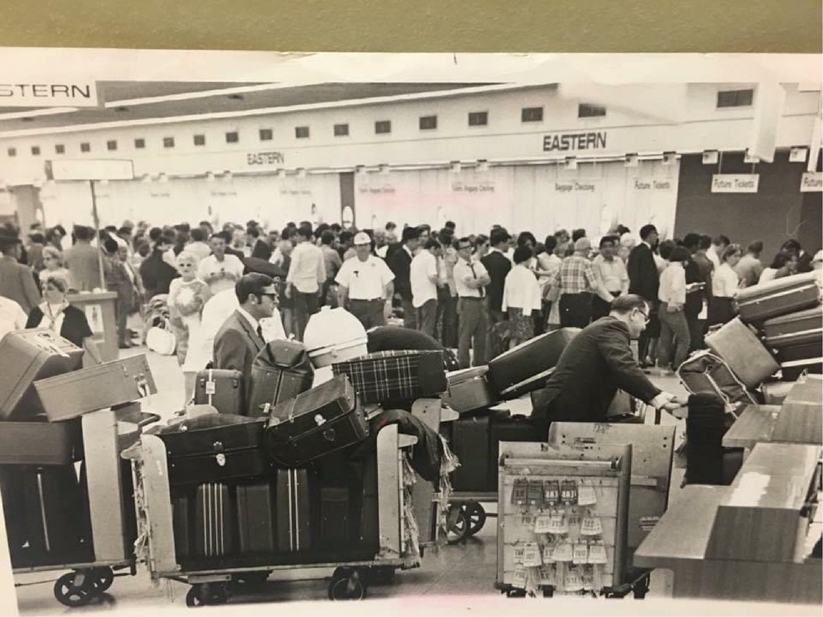 We've all got baggage. Pack knowing everything you need travels on Eastern. We're still offering TWO FREE checked bags, up to 70 lbs. each on every flight, with every fare.* #goeasternair #tbt #throwbackthursday  BOOK NOW