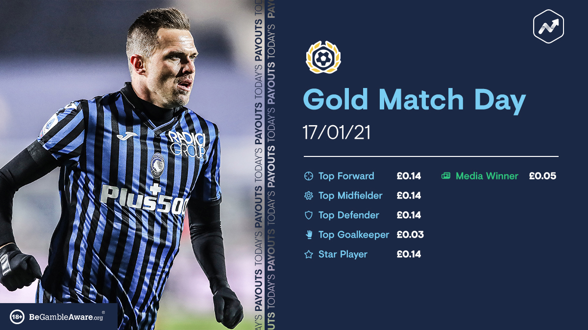 Another Gold Match Day  Payouts 👇