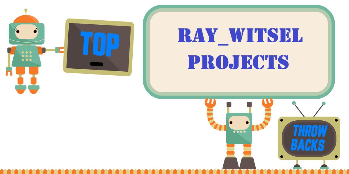 Be Sure to follow all of my Twitter Accounts! @Ray_Witsel and my HOUSE bot @RayWitselHA! #Throwback #IOT #SmartHome