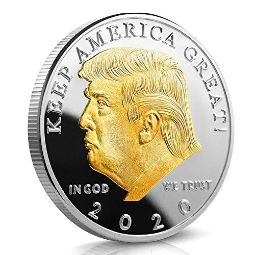 GOLD AND SILVER #PLATED #PRESIDENT #TRUMP 2020 #COIN Special Promotion $4.95 Claim one 2020 coin today for FREE, just pay Shipping and Handling OR Buy multiple #coins and get free shipping