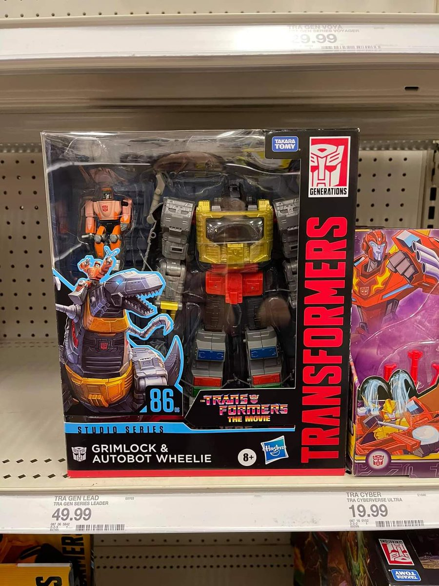 Not my pic, but Grimlock is out at retail.  Found at a Target in Oakland CA