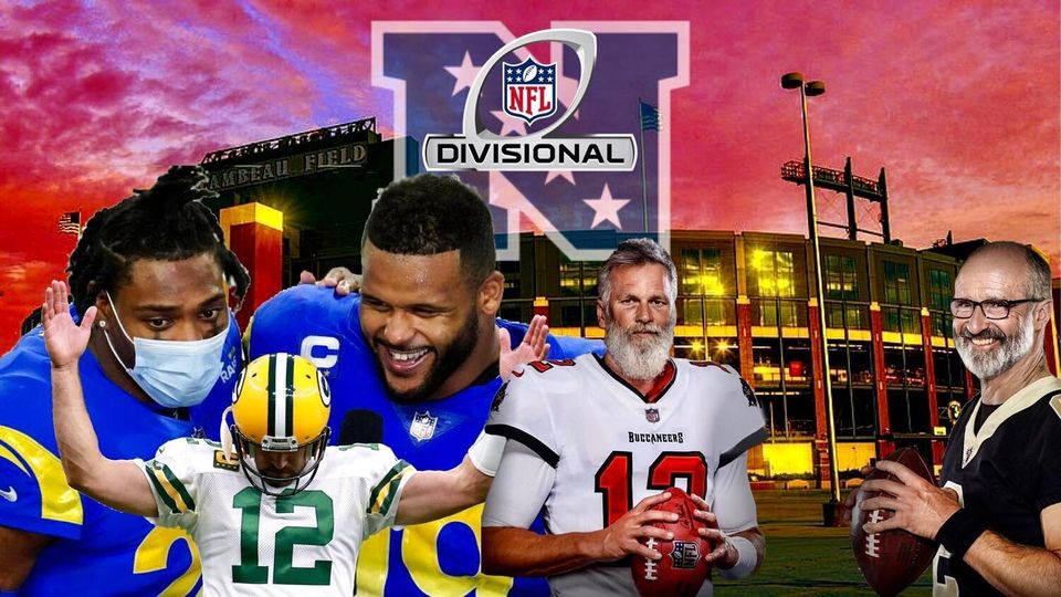 """""""The second round of the playoffs looks to be even better as we have some exciting matchups that are happening this weekend.""""  Check out this Sports article by Zachary Smith.     #latonique #nfc #nfcdivisionalplayoffs #buccaneers #saints #packers #rams"""