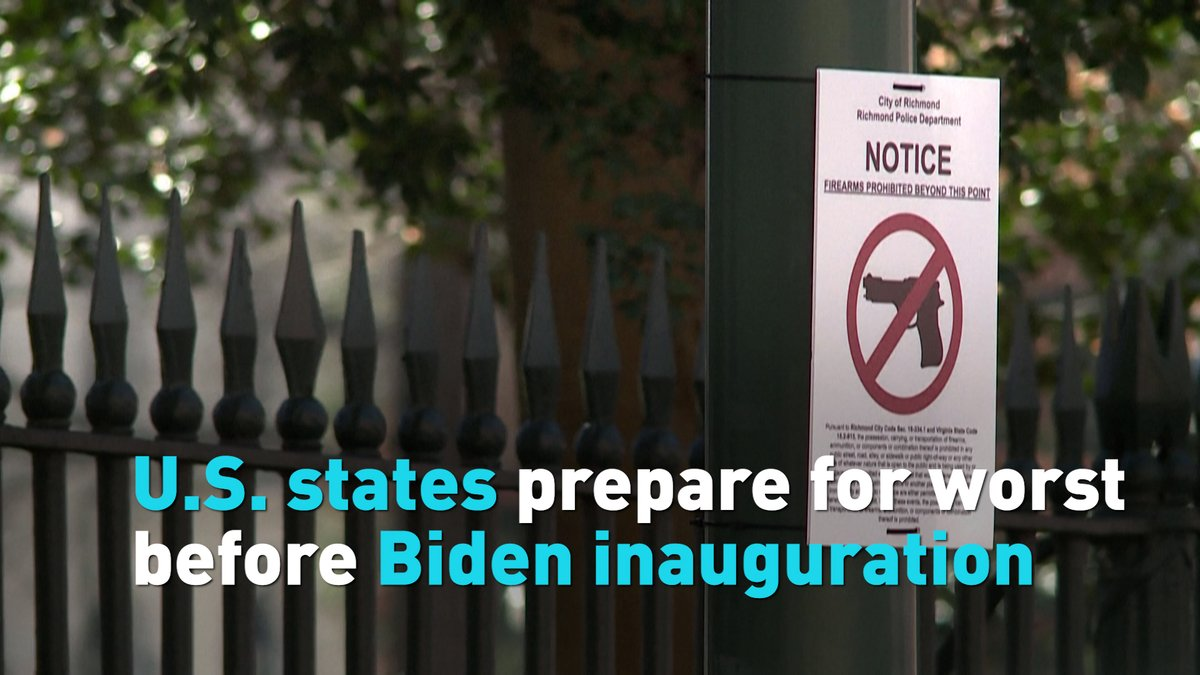 All 50 states are on alert for potential extreme protests ahead of the inauguration of President-elect Joe Biden. See how they're preparing for the worst. #inauguration #Biden #CapitolStorming