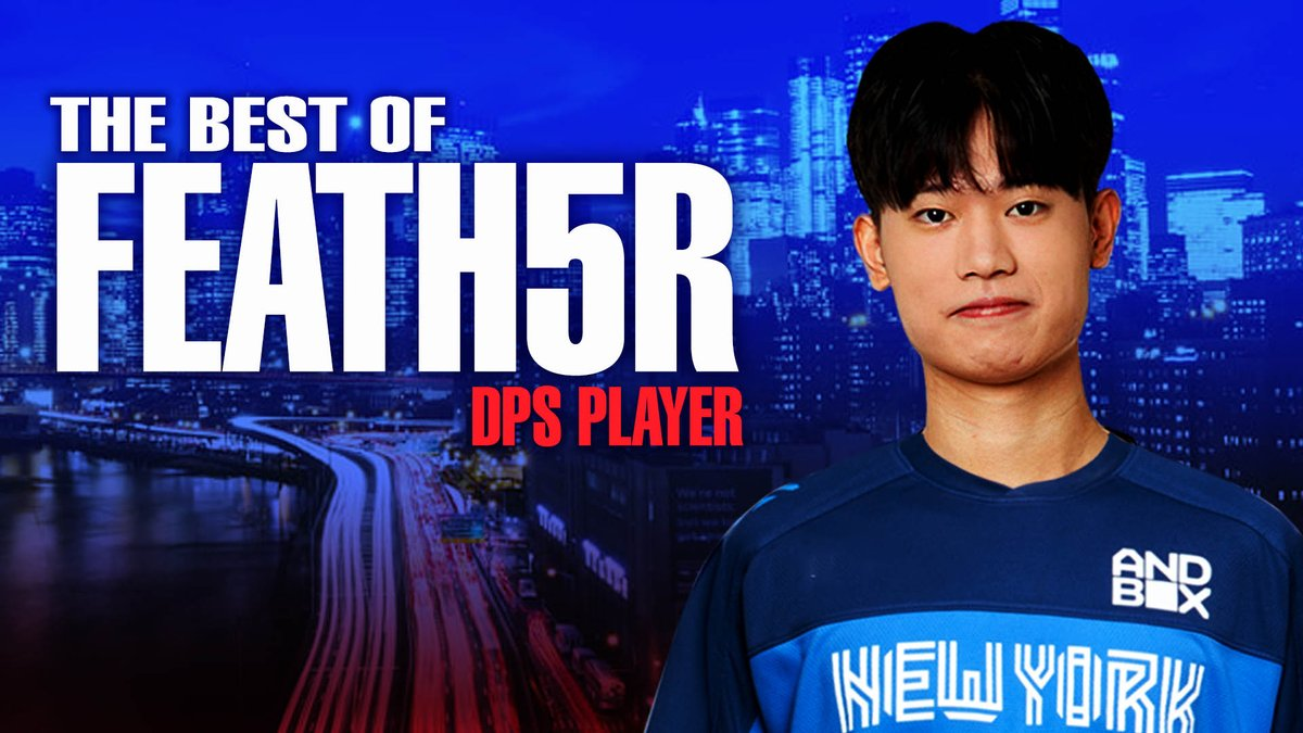 NYXL - Who does @FEATH5R_OW main? Everyone.... he plays everyone. Here's a first look at the rookie DPS player. #EverUpward