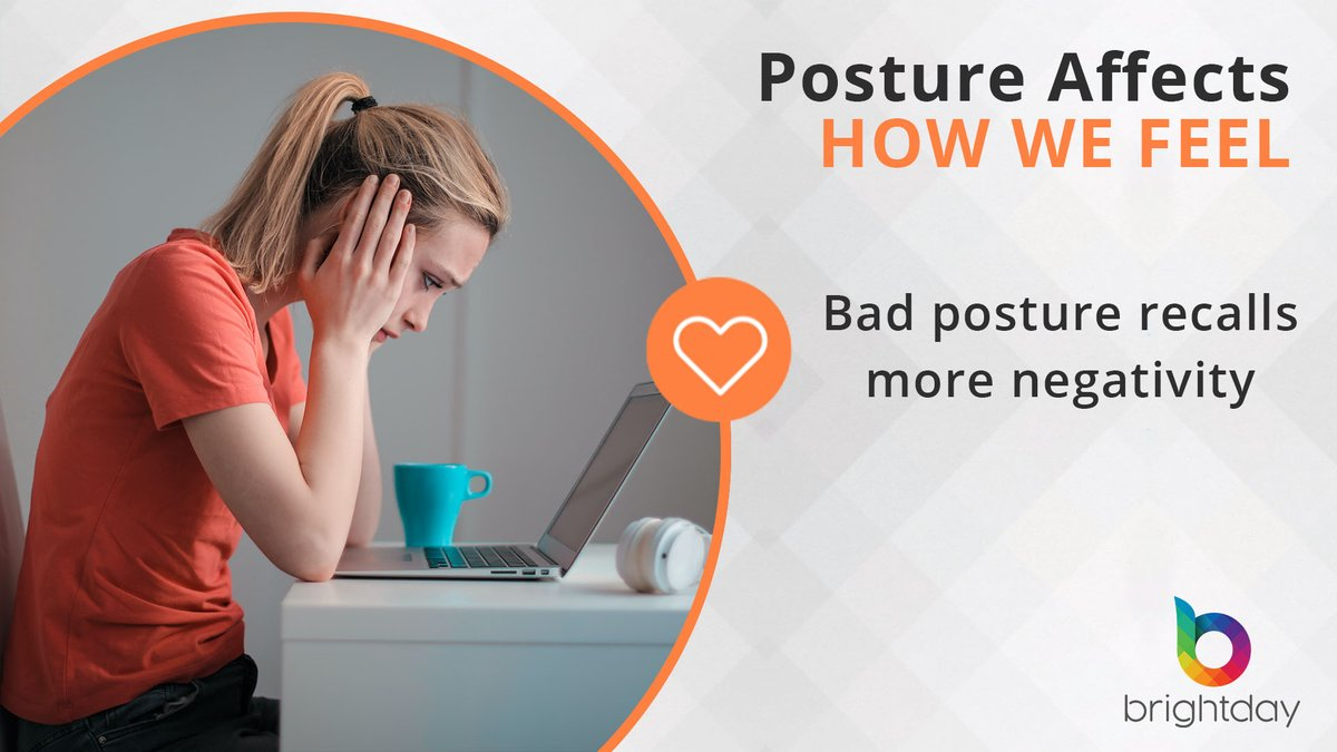 Did you know that having a poor posture actually affects your mood & #mindset? Either #WFH or back in the office (yes it could happen!), there are still unsolved #ergonomic challenges. A better and stylish set-up desk or ergonomic keyboards won't teach you good posture habits.