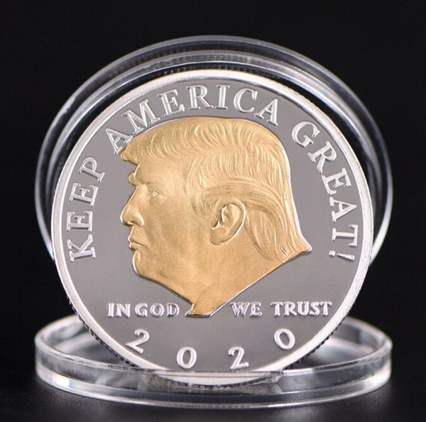 GOLD AND SILVER PLATED #PRESIDENT #TRUMP 2020 #COIN Special Promotion $4.95 Claim one 2020 coin today for FREE, just pay Shipping and Handling OR Buy multiple #coins and get free shipping