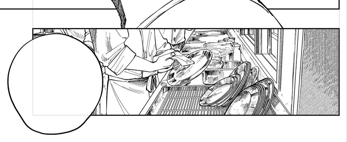 諸事情で皿を大量に描く人生なので、かんたんな皿の描き方