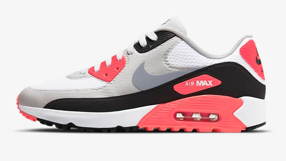 Just Dropped: Nike Air Max 90 G 'Infrared' #AD