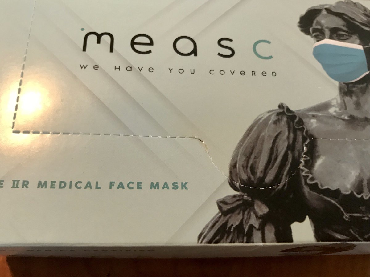 These surgical grade Irish made masks from @Measc_Facemasks are easily adjusted and comfortable to use. They can be made with your business logo on them to keep your customers, staff and you safe. #ad #wearamask
