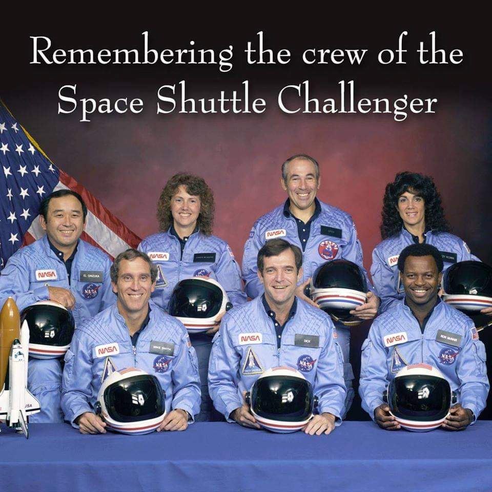 I earned my AIRCREW wings the day Challenger exploded. Let's honor the lives of those who died to further space exploration   @NASA #Challenger #SpaceShuttleChallenger