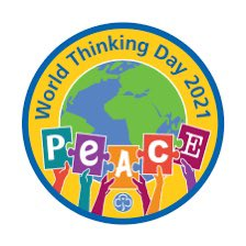 The theme for World Thinking Day this year is peace - so very appropriate that guiding and scouting globally have been nominated for a #NobelPeacePrize!   #WTD2021 #ForHerWorld