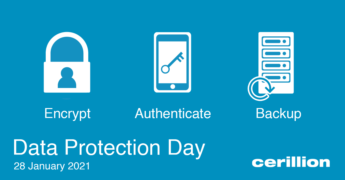 Today is #DataProtectionDay, reminding us to be aware of how our data is used, and how businesses can responsibly manage customer details – ensure that your data is protected #DataPrivacyDay