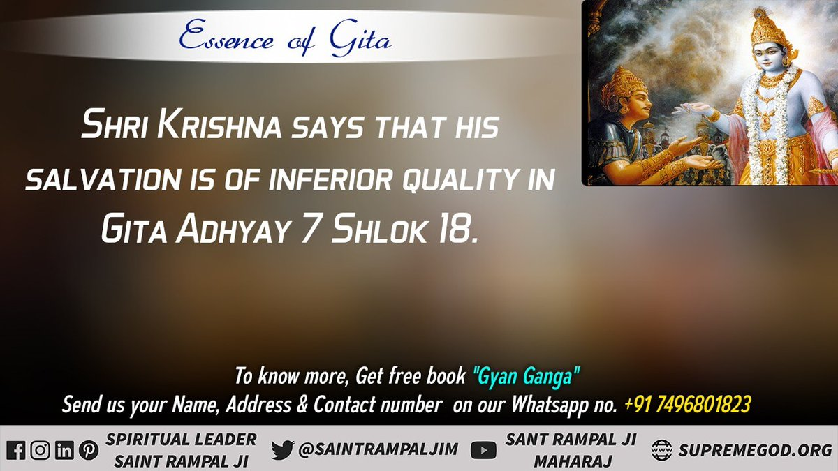 #GodMorningThursday  It Is Written In  Gita Chapter 6 Verse 16 that O Arjuna, this yoga (sadhna) proves to be neither of the over-eating nor of those who eat (fast). @SaintRampalJiM   Vsit satlokj ashram youtube channel #thursdaymorning #thursdayvibes