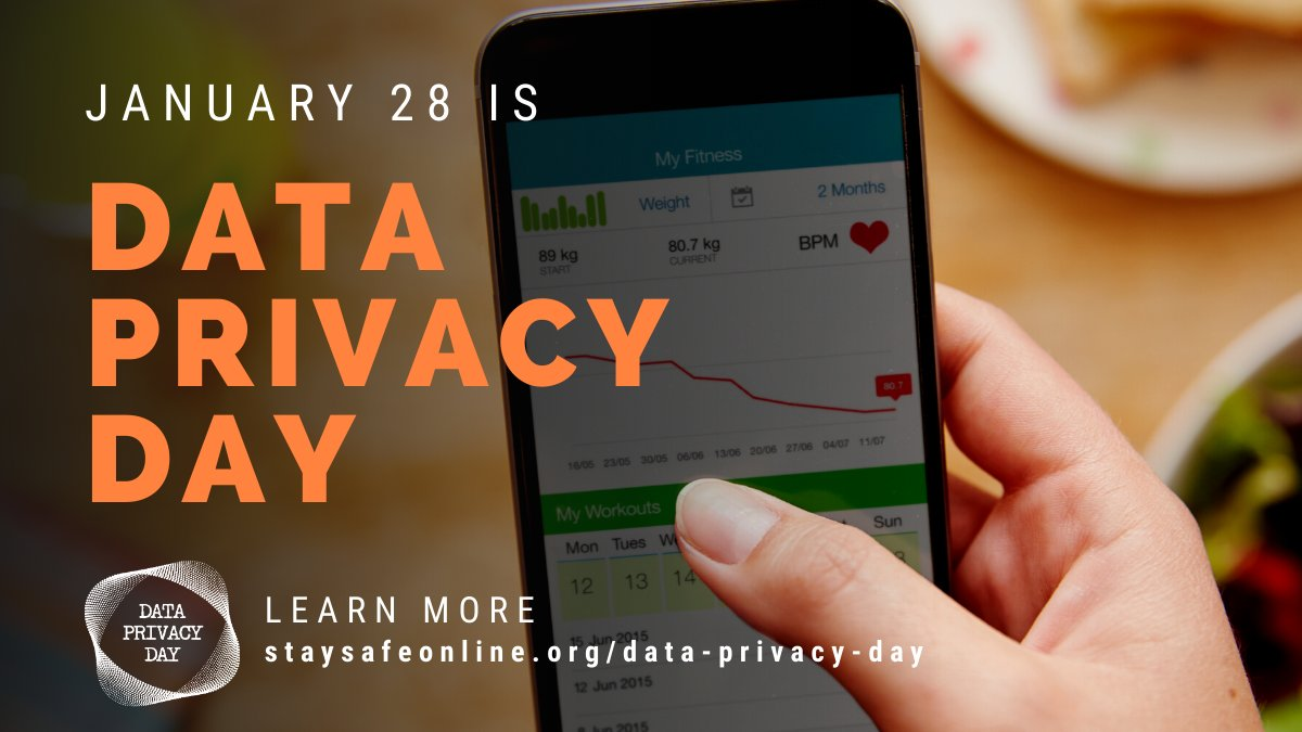 The Cure told us Friday, I'm in Love, and Erasure just loved Saturday, but we're partial to #DataPrivacyDay