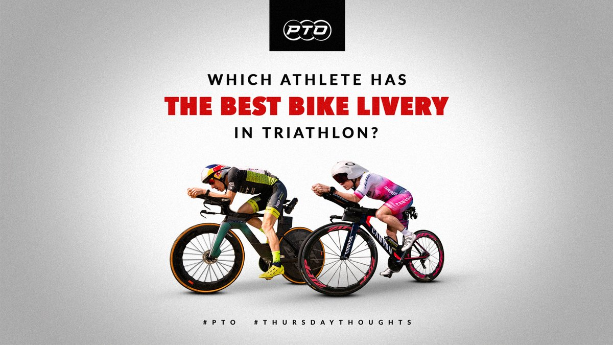So many hot bikes! Which colours / styles / designs has caught your eye on the race circuit this past year? 🚴♂️👀  #PTO #TriathletesUnite #Triathlon #ThursdayThoughts