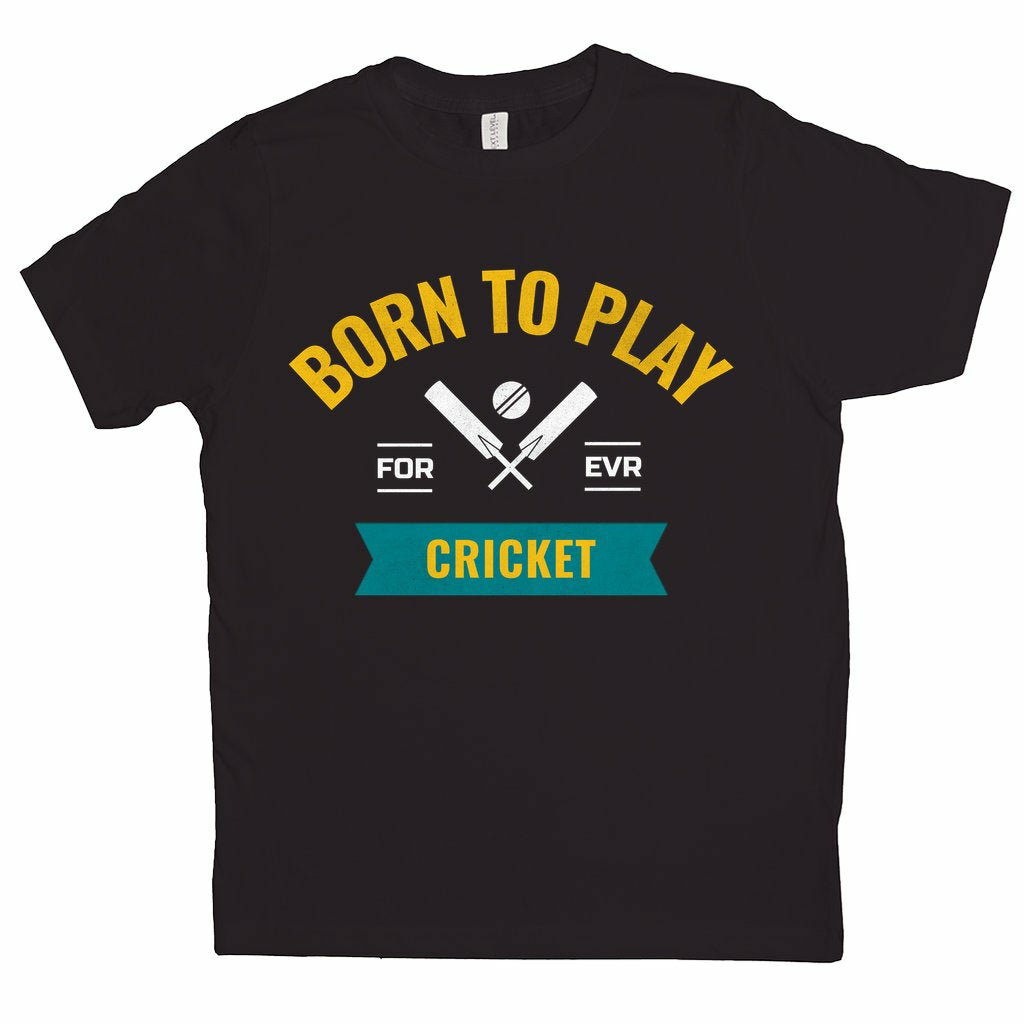 Born To Play Cricket T-Shirt (Youth Sizes)   #youthcricket #foxcricket #casocricketleague #wearechicagocricket #nightcricket #westisbest #bigbashleague2020 #pinktest #mcgrathfoundation #madeofcricket #vegemite #sydneyharborbridge #sydneytest