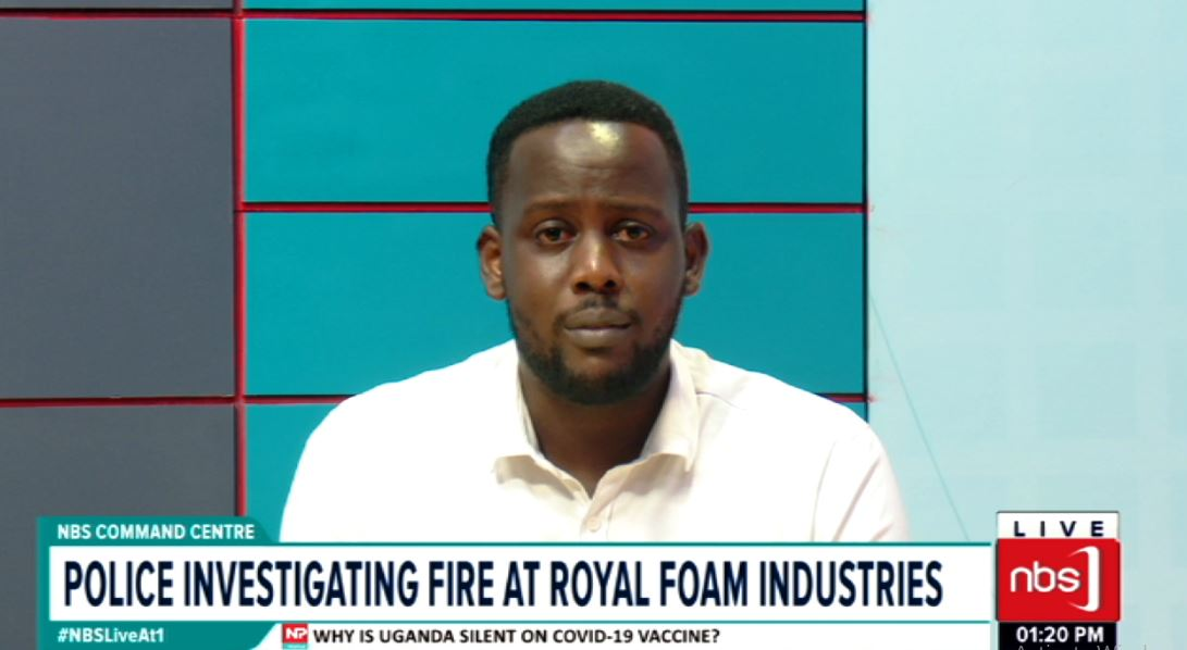 Property worth millions of shillings has been gutted in fire at Mega industries a subsidiary of Royal Foam. Police says the cause of the fire is not yet known but extreme effort is underway to extinguish it.   #NBSUpdates #NBSLiveAt1 https://t.co/VXmFb6qfKn
