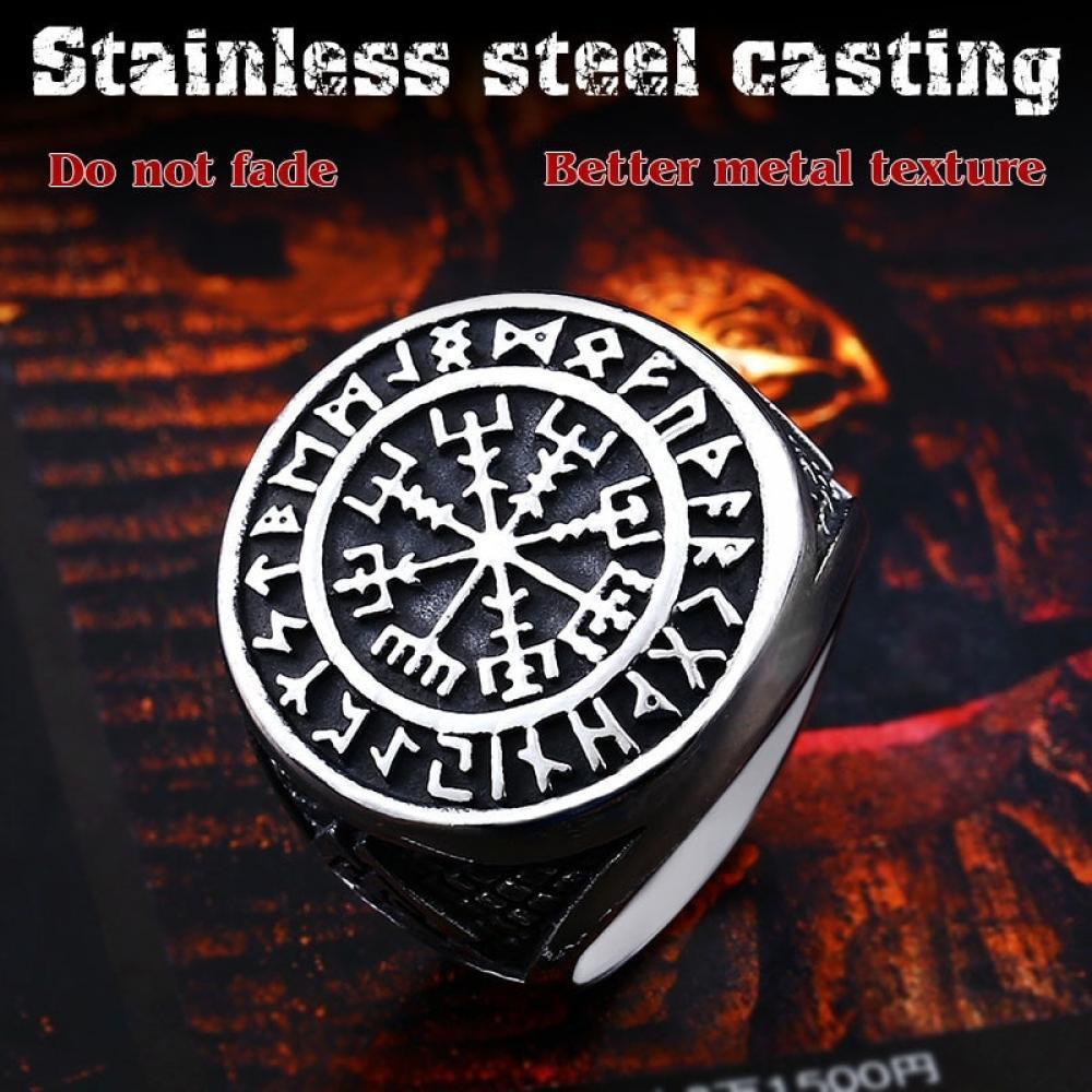 Men's Nordic Stainless Steel Ring #girls #hair