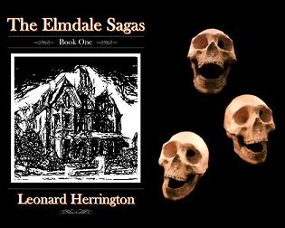 People die in Elmdale...lots of people.  Get the Elmdale Sagas:  Book One at     #scary #horror #shortstories #bookseries