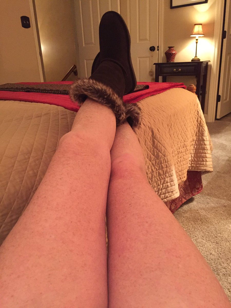 Chilly here this morning, gonna break out my furry boots to keep warm.  Happy Thursday friends, make it a great day!!   #ThighThursday #thursdaymorning