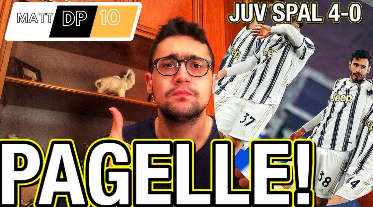 🚨FAGIOLI FA IL PIRLO! KULUSEVSKI È MOSTRUOSOOO!| PAGELLE JUVENTUS SPAL 4...    #Ronaldo #Juventus #Paratici #Marotta #ForzaJuventus #Dybala #Guardiola #Sarri #Chiellini #CR7 #ChampionsLeague #Agnelli #DelPiero #Buffon #Pirlo #Pogba  #Raiola