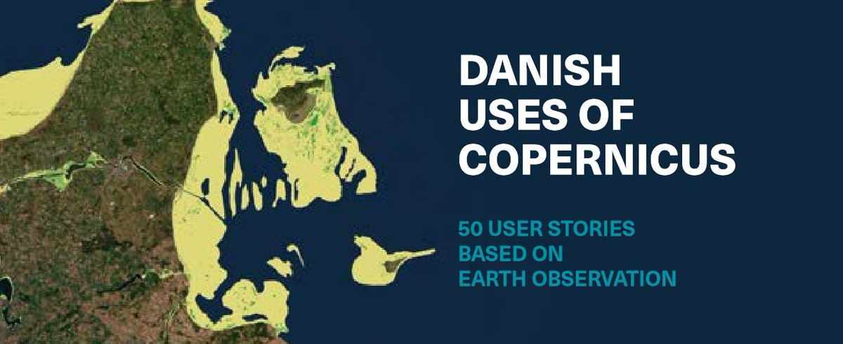 🛰️Want to know how #SpaceData provided by the #Copernicus programme is used in Denmark? Today @SDFEtweet releases a list of 5️⃣0️⃣ use-cases highlighting the contribution of #EO in enabling public authorities to deliver more efficient services. Read more👉bit.ly/2M1STt7