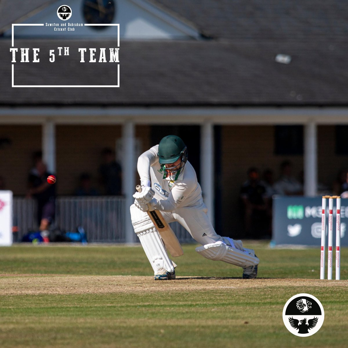 NEW FOR 2021 ✅  Many thanks to 5th team members Kev Pride & Stephen Summerlin who will be sponsoring Alex Stafford & Tim Moses for the upcoming season 🏏 #SBCC #Cricket #RAMS🐏