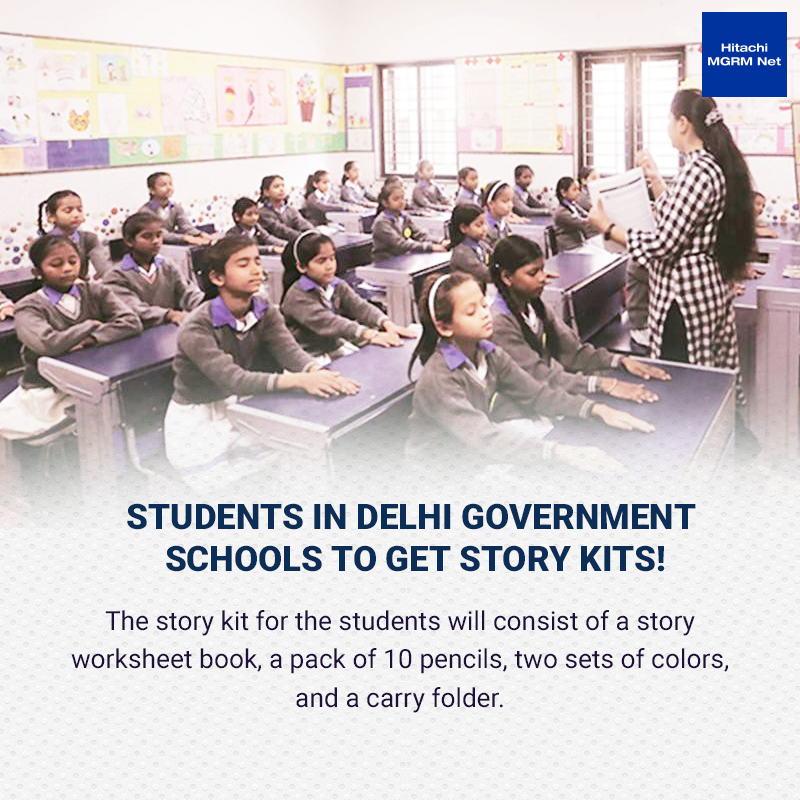 Good Governance! With schools closed and children not being able to use their library, the #Delhi government has decided to provide story kits for students of classes III to V. #schools #ThursdayThoughts #thursdayvibes #ThursdayMotivation