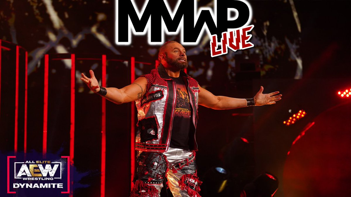 TONIGHT! #MMWP is LIVE with a new episode! @boingo_rider & @TheVacuuminator will be discussing all the happenings from the #wrestling world this week including a new date for #AEWRevolution, another interesting week of #IMPACTonAXSTV and the road to #BeachBreak!