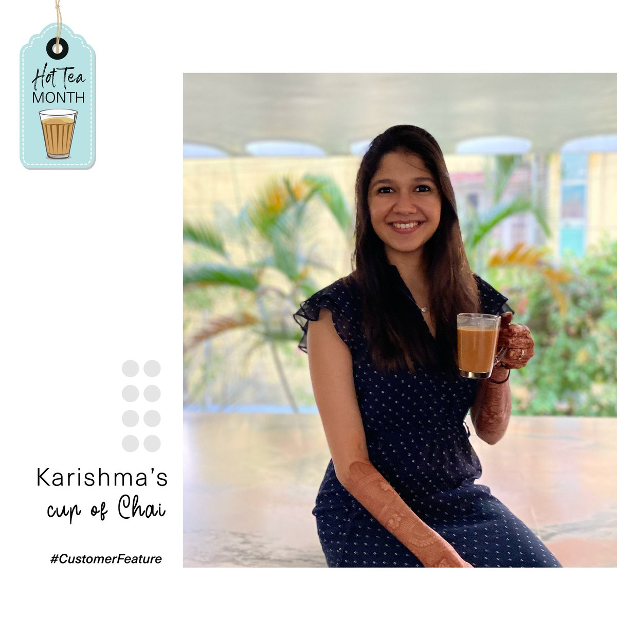 My Chai, my way! ☕😀  Karishma spills the beans on her cup of Chai! How do you like yours? 😀  #Conversation #candid #conversations #thursdayvibes #ThursdayThoughts #ThursdayMotivation #ThursdayTreat #thursdaymood #Chai #chailover #tealovers