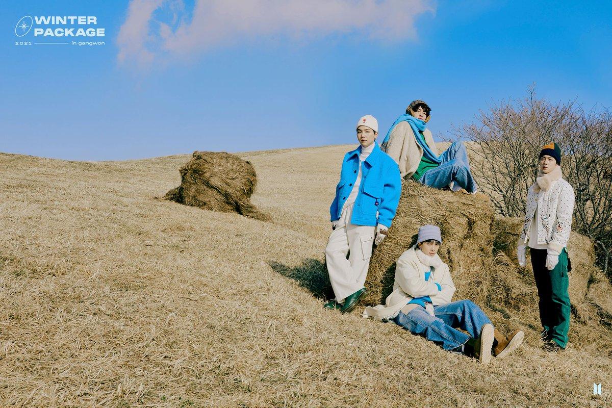 Units para o Winter Package 2021 (2)  • JIN, SUGA, RM, V • J-Hope, Jimin, Jungkook   #슈가 #SUGA #BTS @BTS_twt 📍