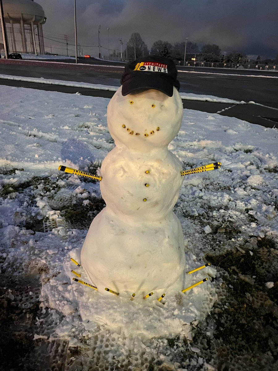 Enjoy the snow while it lasts! Be safe on the roads. #ncwx @ABC11_WTVD @DWilsonABC11