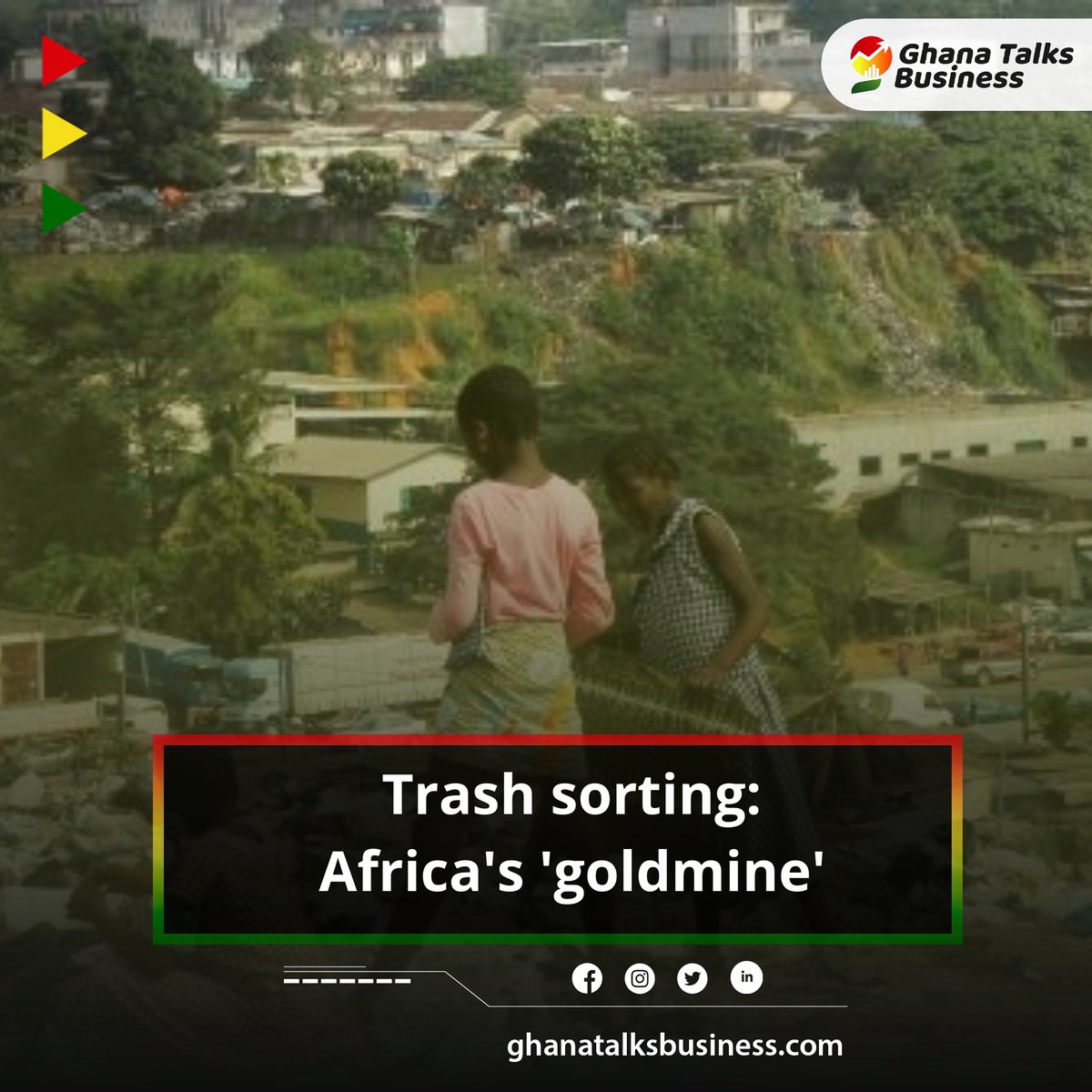 Ghana is saddled with a huge waste challenge. However, there's immense business opportunities involved. Click the link to read.  #silhouettechallenge #SupremeInfluencers