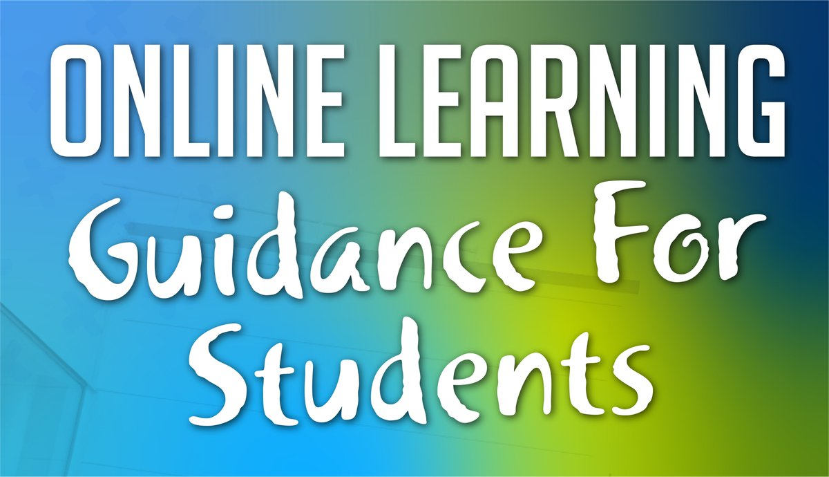 Get the guidance you need during this time of online learning at Darlington College.  Students can access this document via the following link:   #DontJustLearnItLiveIt #Online #Guidance #Learning #ThursdayMotivation #important #Darlington