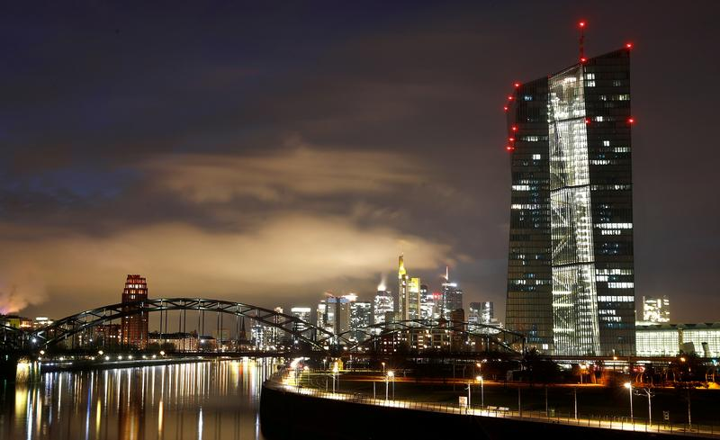 Nine euro zone banks tap pandemic buffer due to 'structural issues', ECB says