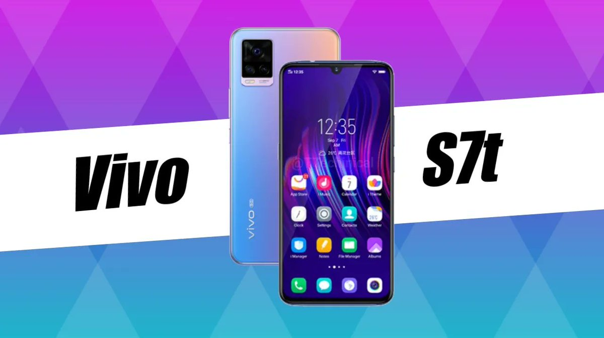 Vivo S7t spotted on Google Play Listing Key Specifications - MediaTek Dimensity 820 - Android 11 - FHD+ waterdrop notch display  To know more visit the link below👇and follow @NaxonTech for more #Latest #technews     #vivos7t #Vivo #tech #news