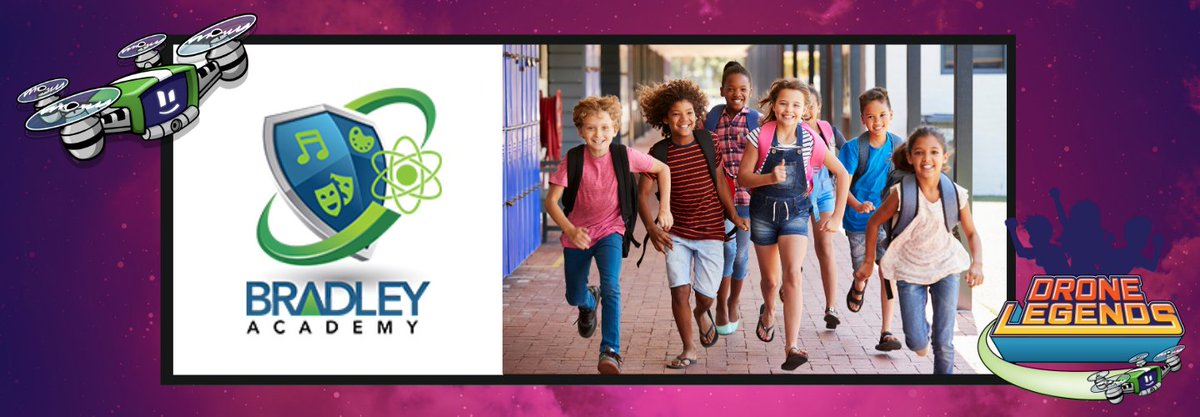 #thursdaymorning and what a week! Today we welcome the kids of @BradleyBobcats @ESPatMCS @cityofmborotn to the Drone Legends family! Can't wait to meet you all and get you started on your fantastic #STEM journey!