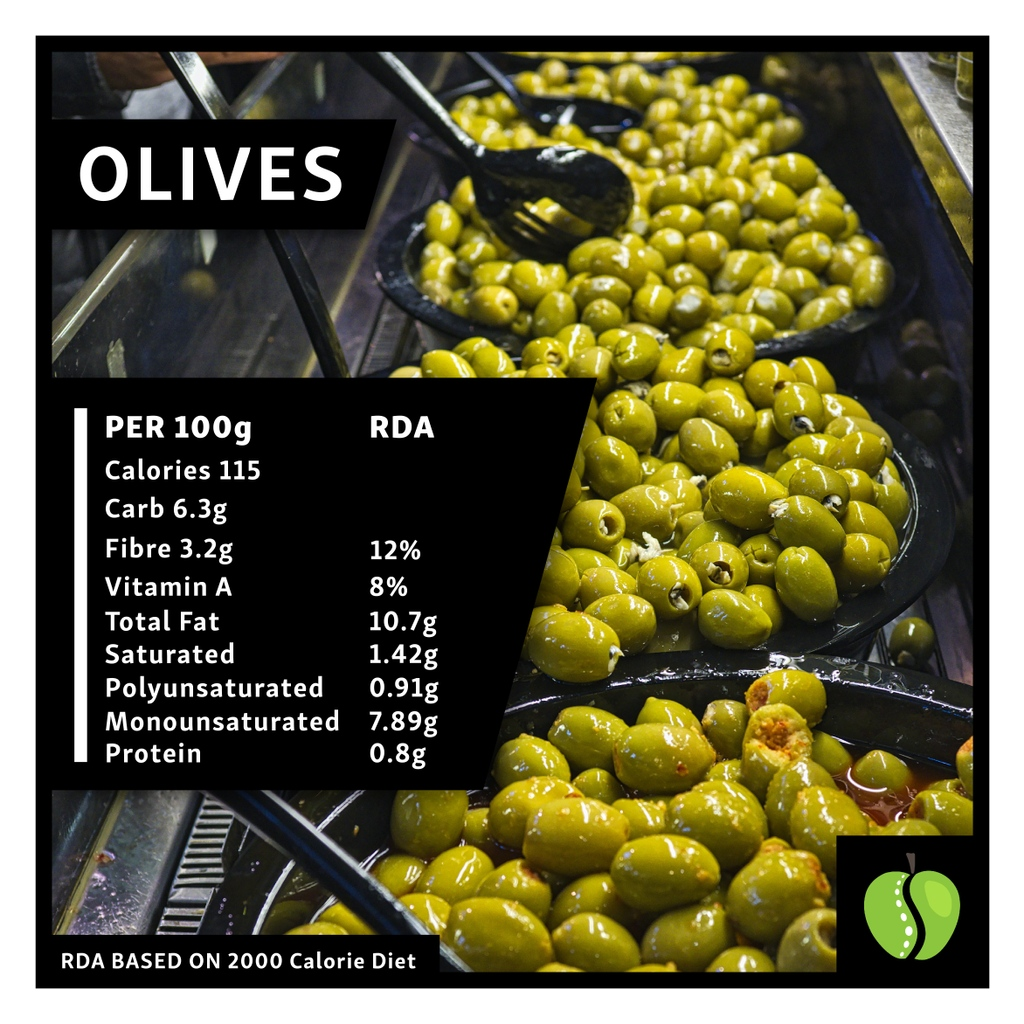 Olives are an excellent source of healthy fats, fibre & vitamin A. Pop it in salads, pasta and stews to add flavour  #lifestylemedicine #bslm #health #fitness #nutrition #diet #superfood #plantbased #medicine #weightloss #weight #physio #therapy #functionalmedicine  #wellbeing https://t.co/x4Xq7IhpbE