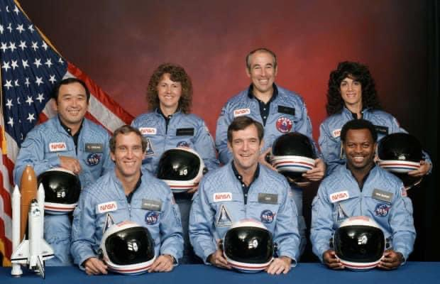 35 years ago today. #challenger